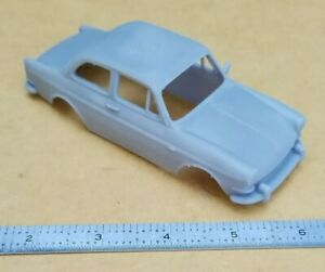 3D PRINTED 1/32 1961 VW TYPE 3 1500 NOTCHBACK COUPE BODY. SLOT CAR VOLKSWAGEN