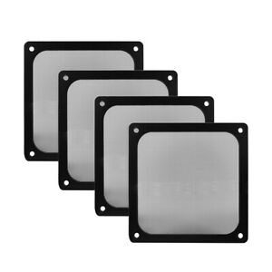 Computer Case Cooler Fan Dust Filter Grills PC Magnetic Frame Ultra Fine Mesh E