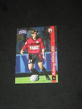 REVEILLERE   RENNES  RENNAIS Carte football card FRANCE FOOT DS 1998-1999 panini