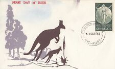 Stamp Australia 5d green Country Women on 1962 Eric Ogden generic cachet FDC
