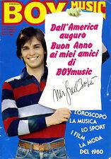 BOY MUSIC MIGUEL BOSE N.2 9 GENNAIO 1980
