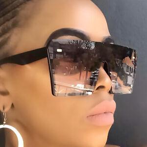2021 Oversized Square Sunglasses Women Driving Outdoor Glasses Men Eyewear UV400