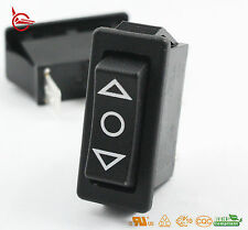 Light Country R4 Momentary Rocker Switch 3 Position Black SPDT 20 A / 250 V