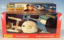 Dinky Toys 309 Star Trek Set U.S.S. Enterprise & Klingon Battle Cruiser OVP
