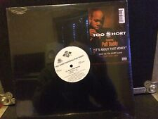 """Too $hort 12"""" Its About That Money Feat Puff Daddy """" Factory Sealed """""""
