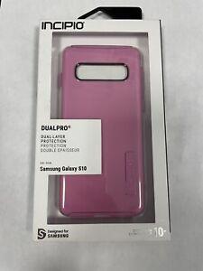 Incipio DualPro Case for Samsung Galaxy S10- Pink