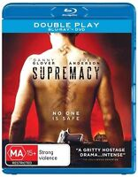 Supremacy (Blu-ray Only, 2015, 1 Disc Set)*Danny Glover*Terrific Condition*