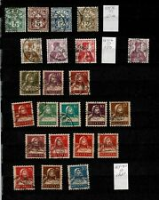 SWITZERLAND, MINT AND USED COLLECTION, CAT $350, MANY SETS