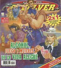 LA LEY DEL REVOLVER MEXICAN COMIC #713 MEXICO SPANISH HISTORIETA 2012 WESTERN