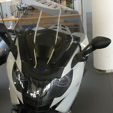 Viento escudo bmw k1600gt disco revestimiento windshield screen, humo gris