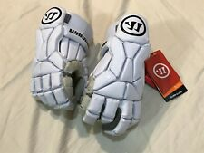 Warrior Burn Lacrosse Gloves Never Used, new with tags BG20WHL