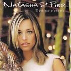 CD CARTONNE CARDSLEEVE NATASHA ST PIER 3T TANT QUE C'EST TOI (OBISPO) NEUF