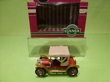 GAMA OLDTIMER 1186 OPEL DOCTORWAGEN 1909 - RED 1:43? - GOOD IN BOX
