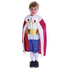 BOYS TODDLER MEDIEVAL TUDOR KING FANCY DRESS BOOK DAY NATIVITY COSTUME AGE 2 - 3
