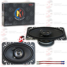 "BRAND NEW MEMPHIS 4 x 6 INCH 2-WAY CAR AUDIO SPEAKERS (PAIR) 4"" x 6"""