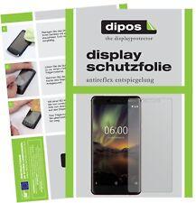 2x Nokia 6.1 2018 Screen Protector Protection Anti Glare Dipos