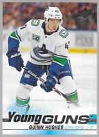 2019-20 Upper Deck Young Guns Quinn Hughes Rookie # 249 NM/MT RC