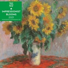 2021 Calendar Impressionist Blooms Square Wall by Andrews McMeel AM45072