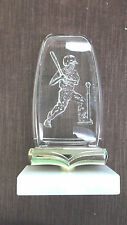 T-Ball male acrylic fossil award trophy marble base