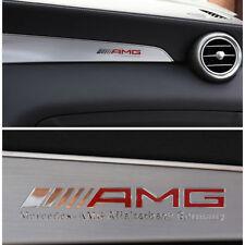 AMG  Badge Emblem Interior  Decal Sticker  Decoration For Mercedes Benz Red