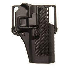 BlackHawk 410025BK-R Serpa Holster Black Carbon Fiber RH for S&W M&P 40