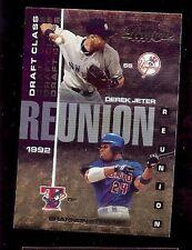 2003 Playoff Prestige Draft Class Reunion Derek Jeter /Shannon Stewart #DR-2 (O)