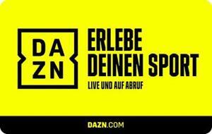 12 Monate DAZN Gutschein Code - Fußball, EM, NHL, NBA, Tennis, Darts...