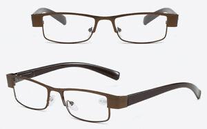 Unisex Reading Glasses Spring Hinges Retro Readers +1.0 1.5 2.0 2.5 3.0 3.5 4.0