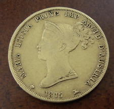 Italia Parma 1815 Oro 40 Lire XF Maria Luigia