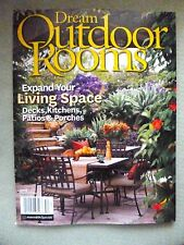 Better Homes & Gardens Dream Outdoor Rooms Magazine 2015 FABULOUS DESIGN STYLE