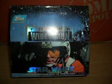 STAR WARS ULTRA RARE TOPPS WIDEVISION SEALED BOX IN MINT CONDITION.