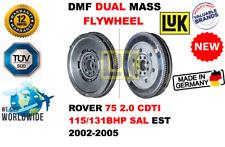 FOR ROVER 75 2.0 CDTI 115/131BHP SAL EST 2002-2005 NEW DUAL MASS DMF FLYWHEEL