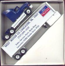 Ford Trucks Wolf Motor Co Lancaster, PA '92 Winross Truck