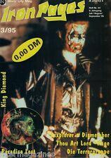 Iron Pages Nr.33 - 3/1995,King Diamond,Paradise Lost,Exxplorer,Dismember,Rage,