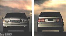1995 VOLVO Catálogo/CATALOG: 850,940, 960 , GLT, Touring, Sportwagon, turbo ,