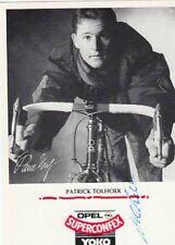 PATRICK TOLHOEK autographe cyclisme ciclismo cp Signée Cycling OPEL SUPERCONFEX