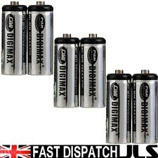 6 Rechargeable Batteries 2/3AAA 1.2V 400mAh iDECT X1