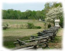 Note Card, Tennessee,  Civil War-Shiloh Battlefields