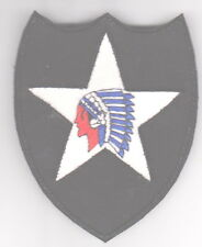 USA 2 nd Infantry Division Patch, Indian Head