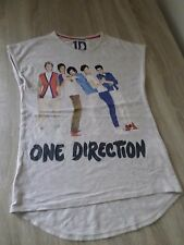 1D One Direction M&S T-shirt 10-11 Anni Marks & Spencers Top Girls