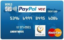 VCC Virtual Credit Card for PayPal Verification Work WorldWide Instant Delivery