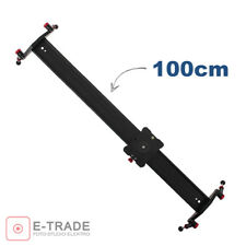 Slider 39'' // Camera Track Dolly Rail Shooting Rail Stabiliser for DSLR -100cm