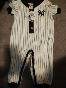 Yankees Majestic baby boys pants outfit uniform Size 18 months