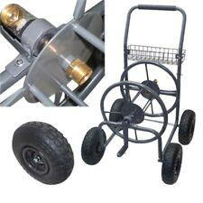 Garden Water Hose Reel Cart 225 Ft Outdoor Heavy Duty Yard Water Planting