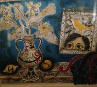 "AUGUSTIN UBEDA, ""L'oiseasu Jaune"", 1969 signed Limited Ed 40/210 Lithograph"