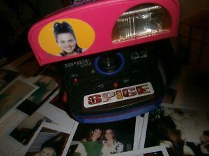 Polaroid SPICE CAM 600  STRIKING PINK** Camera GOOD INCLUSIVE FILM/GUIDE/MANUAL