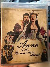 ANNE OF THE THOUSAND DAYS Blu-Ray TWILIGHT TIME LIMITED - RICHARD BURTON - NEW!