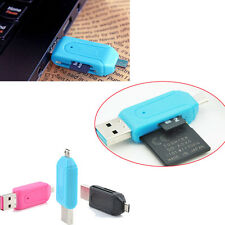 Hot Sale Useful  Micro SD T- Flash Memory Card USB Case Adapter Reader New
