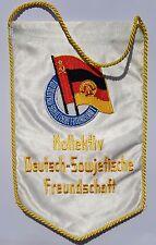 Banderín/RDA/colectivo/Alemán-Soviético de Amistad/ostalgie
