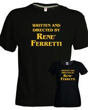 T-SHIRT Directed by Renè Ferretti uomo donna regista nera idea regalo boris